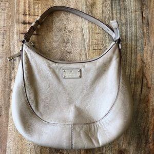Kate Spade Tan Hobo Shoulder Bag Purse